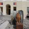 Maler, Künstler und Bildhauer Wilhelm Senoner aus St. Ulrich in Gröden in Südtirol - Italien